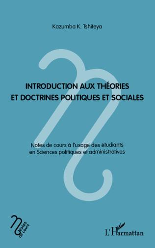 Couverture Introduction aux théories et doctrines politiques et sociales