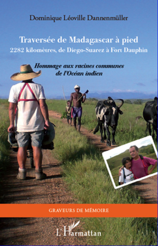 Couverture Traversée de Madagascar à pied