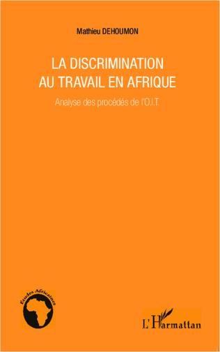 Couverture La discrimination au travail en Afrique