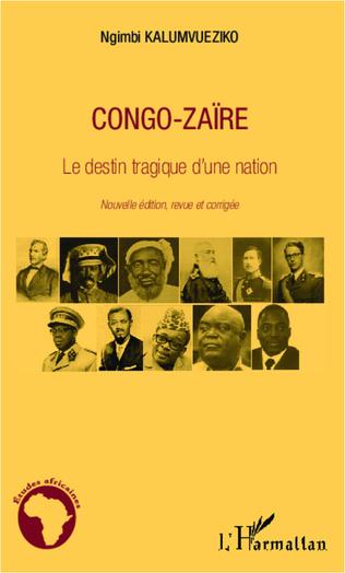 Couverture Congo-Zaïre le destin tragique d'une nation