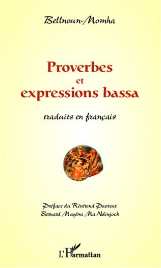 Couverture Proverbes et expressions bassa