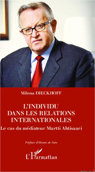 Couverture L'individu dans les relations internationales