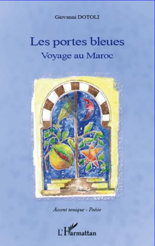 Couverture Portes bleues Voyage au Maroc