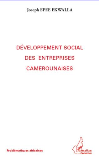 Couverture Développement social des entreprises camerounaises