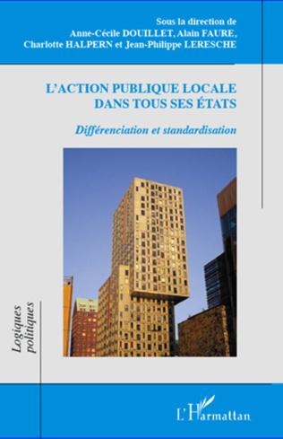 Couverture L'action publique locale dans tous ses états