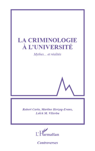 Couverture Criminologie à l'université