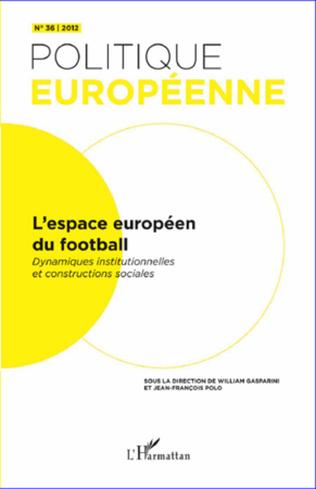 Couverture L'espace européen du football