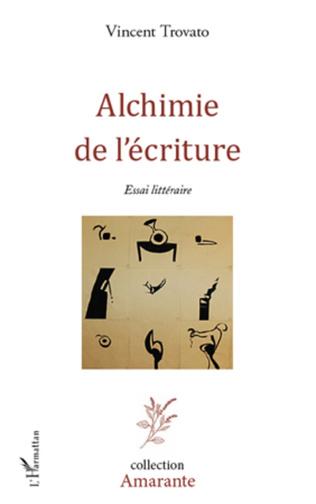 Couverture Alchimie de l'écriture