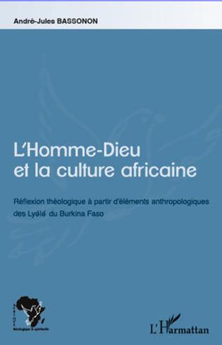 Couverture L'Homme-Dieu et la culture africaine