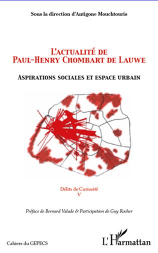 Couverture L'actualité de Paul-Henry Chombart de Lauwe
