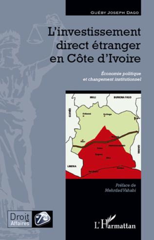 Couverture L'investissement direct étranger en Côte d'Ivoire