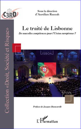 Couverture Traité de Lisbonne