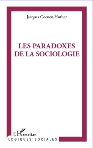 Couverture Paradoxes de la sociologie