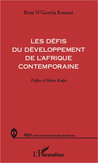 Couverture Les défis du développement de l'Afrique contemporaine