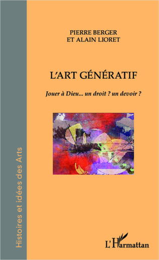 Couverture L'art génératif