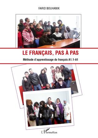 Couverture Le français, pas à pas