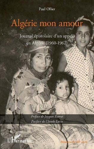 Couverture Algérie mon amour