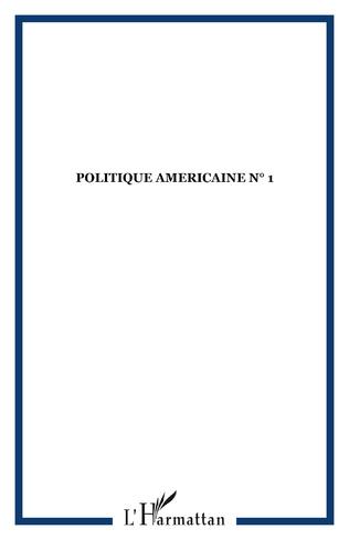 Couverture POLITIQUE AMERICAINE N° 1