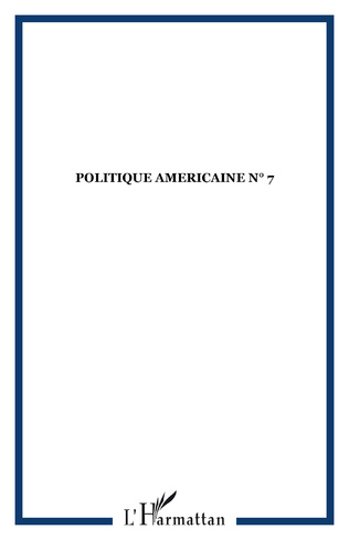 Couverture POLITIQUE AMERICAINE N° 7