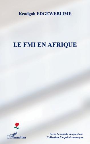 Couverture Le FMI en Afrique