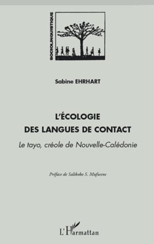 Couverture L'écologie dans les langues de contact