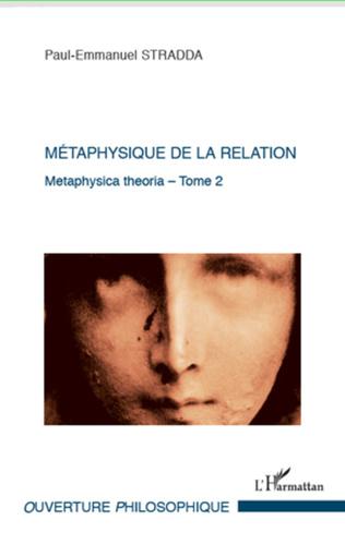 Couverture Métaphysique de la relation