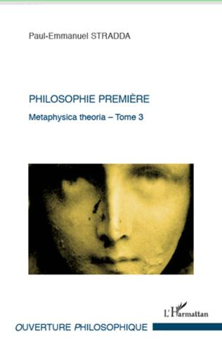 Couverture Philosophie première