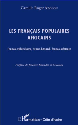 Couverture Les français populaires africains