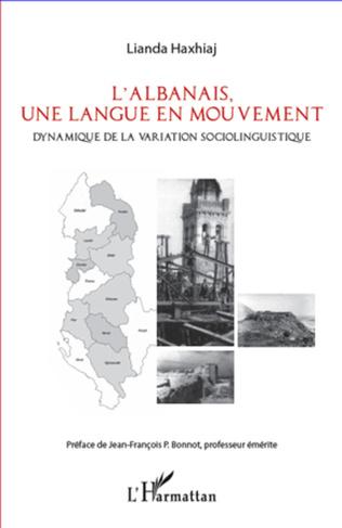 Couverture L'albanais, une langue en mouvement