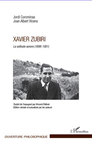 Couverture Xavier Zubiri