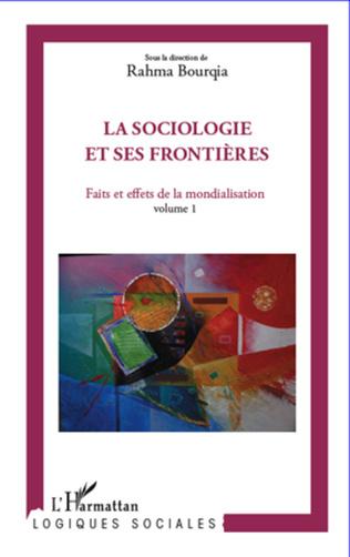 Couverture La sociologie et ses frontières