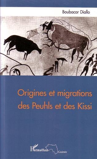 Couverture Origines et migrations des Peuhls et des Kissi