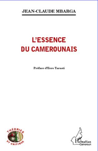 Couverture L'essence du Camerounais