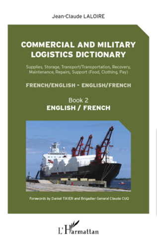 Couverture Commercial and military logistics dictionary (Book 2)