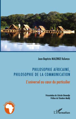 Couverture Philosophie africaine, philosophie de la communication