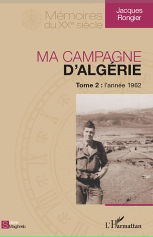 Couverture Ma campagne d'Algérie