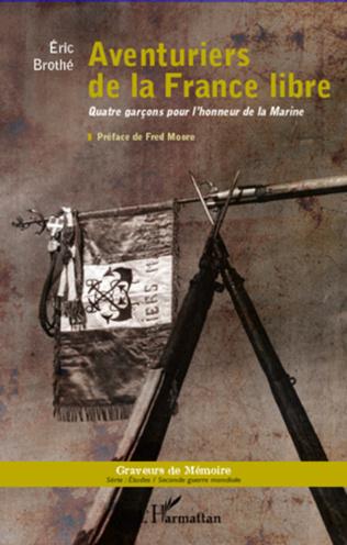 Couverture Aventuriers de la France libre