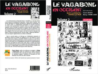 Couverture Le vagabond en occident. Sur la route, dans la rue (volume 2)