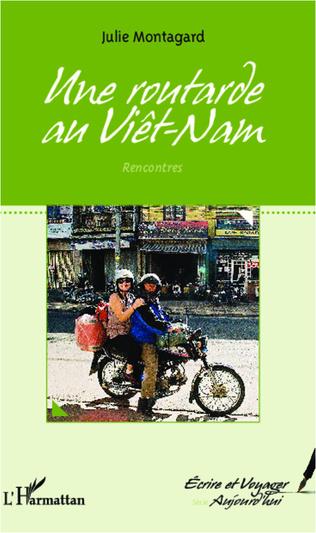 Couverture Une routarde au Vietnam