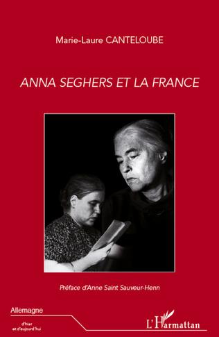 Couverture Anna Seghers et la France