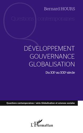 Couverture Développement gouvernance globalisation du XXe au XXIe siècle