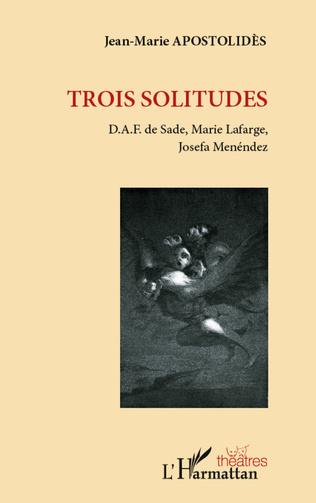 Couverture Trois solitudes