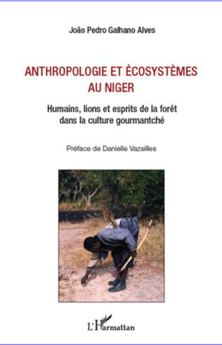 Couverture Anthropologie et écosystèmes au Niger