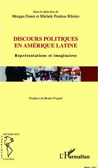 Couverture Discours politiques en Amérique latine