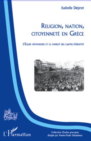 Couverture Religion, nation, citoyenneté en Grèce