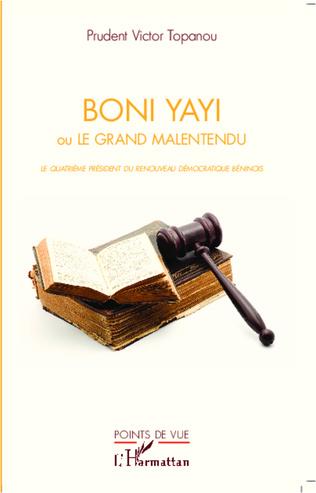 Couverture Boni Yayi