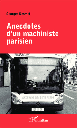 Couverture Anecdotes d'un machiniste parisien