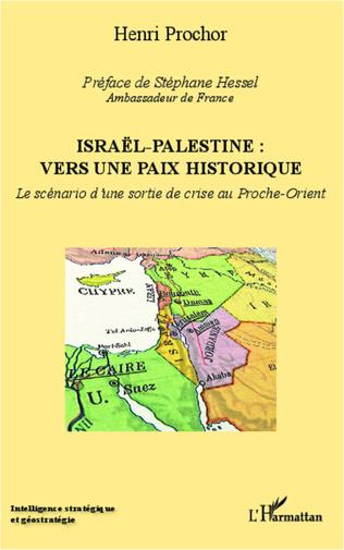 Couverture Israël - Palestine : vers une paix historique