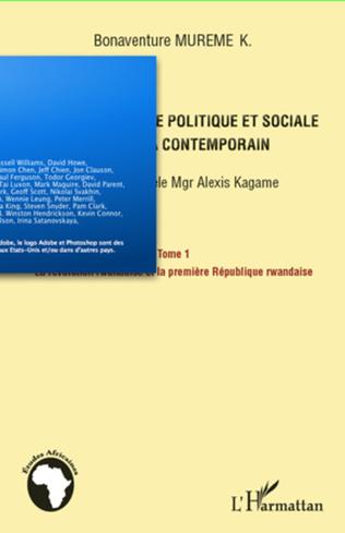 Couverture Manuel d'histoire politique et sociale du Rwanda contemporain (Tome 1)
