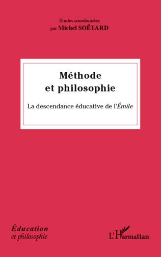 Couverture Méthode et philosophie